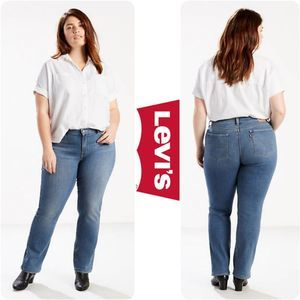 Levi's NWT 414 Classic Straight Jeans 24